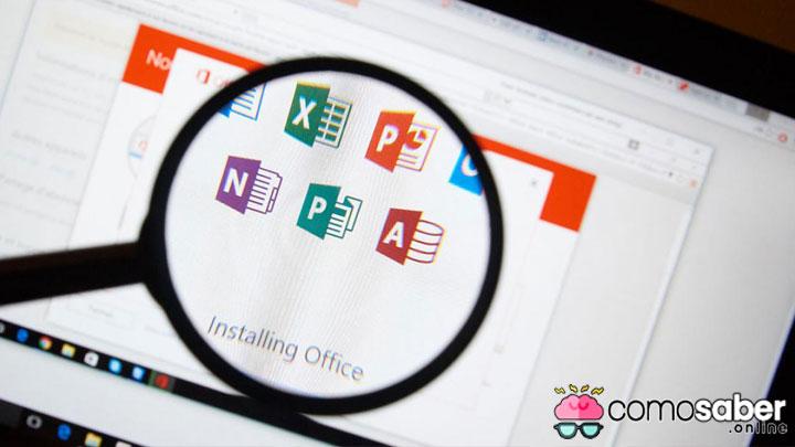 como saber la versión del office instalado en mi computadora