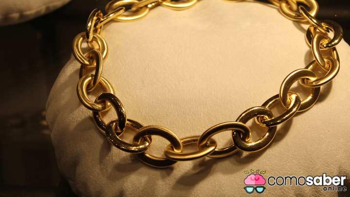 como saber si una cadena es de oro desde mi casa