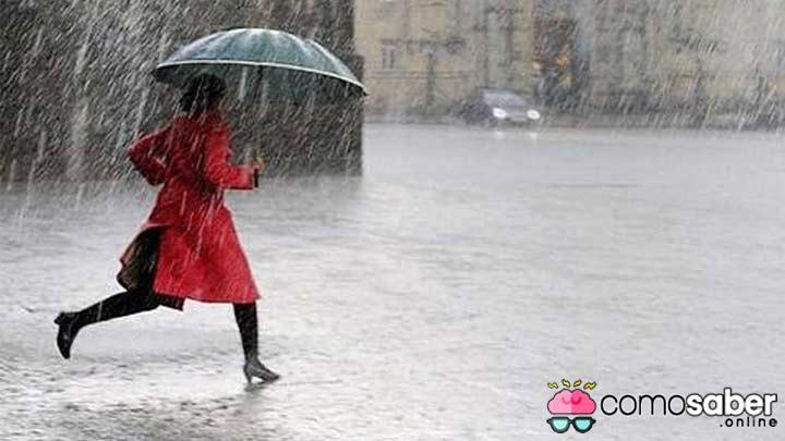 como medir la lluvia que ha caído en una ciudad