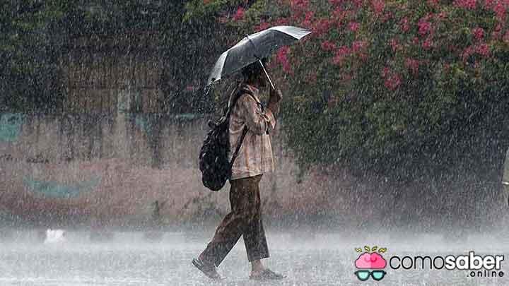 como saber en que localidad ha llovido