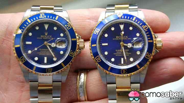 como saber que mi reloj es original