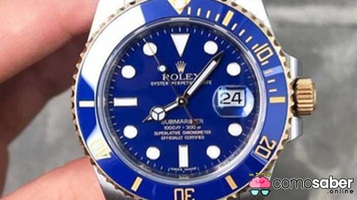 como saber si un reloj es falso