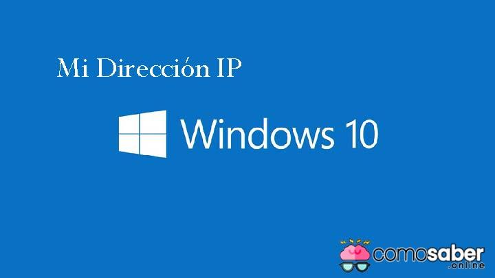 Cómo saber la IP de mi PC